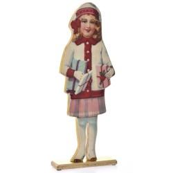 Ξύλινο κοριτσάκι 58cm