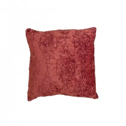 Μαξιλάρι ζακάρ,στο χρώμα της σκουριάς,45x45cm | ZAROS