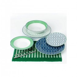 Navy μπλε πιάτα