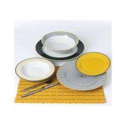 Navy κίτρινα πιάτα