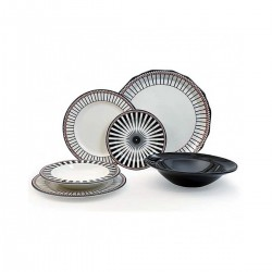 Tiffany Black πιάτα