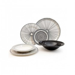 Tiffany Geometric πιάτα